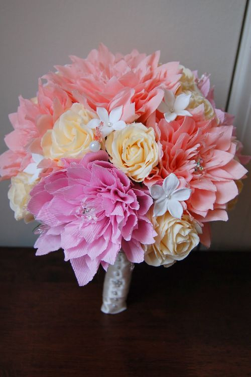 Paper Flowers, wedding flowers, handmade